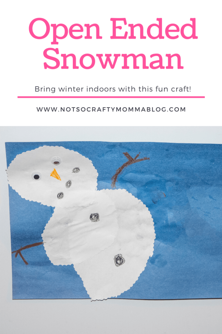 Open Ended Snowman
