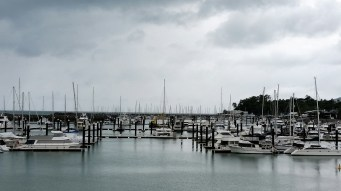 Airlie Beach marina.