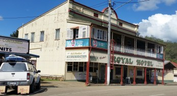 Royal Hotel, Herberton. See the old fire escape!