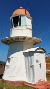 Original corragated iron lighthouse.