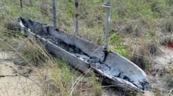 Wooden Canoe.