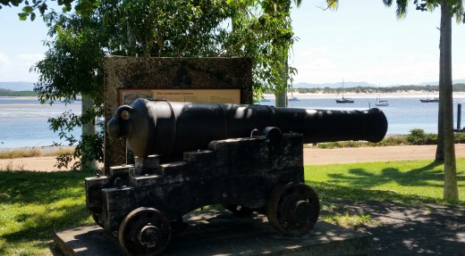 Cannon still fired on annual re-enactment.