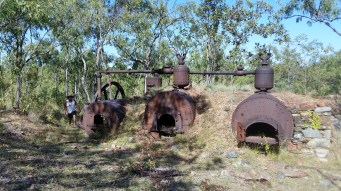 Queen Mill boilers and steam engines.