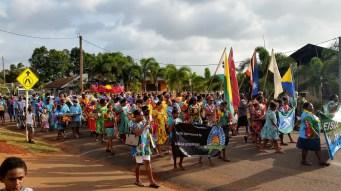 Parade at Bamaga