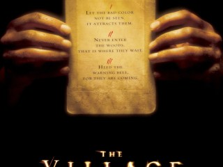Movie poster of the 2004 movie The Village