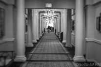 Hallway of The Carolina at Pinehurst Not So SAHM