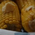 Cob on the corn