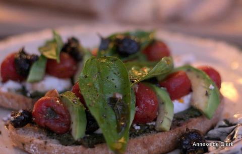Sunday Eve Mediterranean Sandwiches