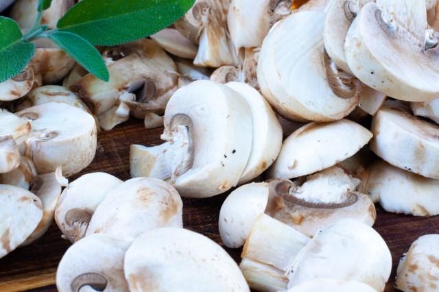 The creamiestst mushroom sauce