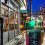 【HDR写真】春の土曜の夜。酒場を探して板橋区大山の商店街を彷徨った。