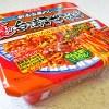 【カップ麺】思っていたほど辛くない。「明星 夏の台湾まぜそば」。