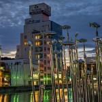 【HDR写真】徳島・新町川の夜景×単焦点レンズ×5枚撮影×HDR×ナチュラル仕上げ(その3)