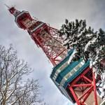 【HDR写真】札幌・大通り公園冬景色×ズームレンズ×5枚撮影×HDR×ポートレートドラマ