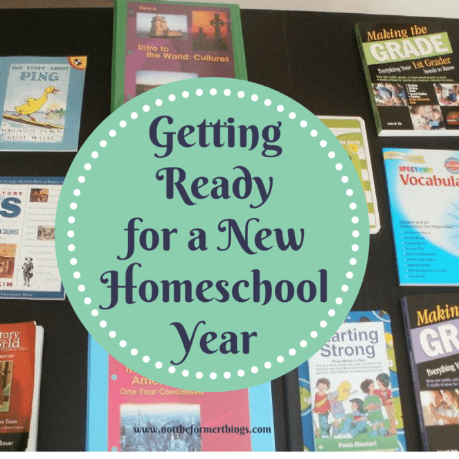 Getting Ready for a NewHomeschool Year