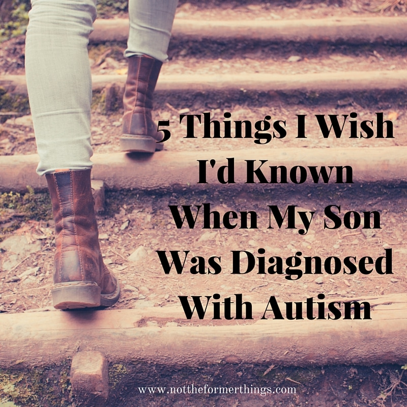 5 Things I Wish I'd Known When My Son Was