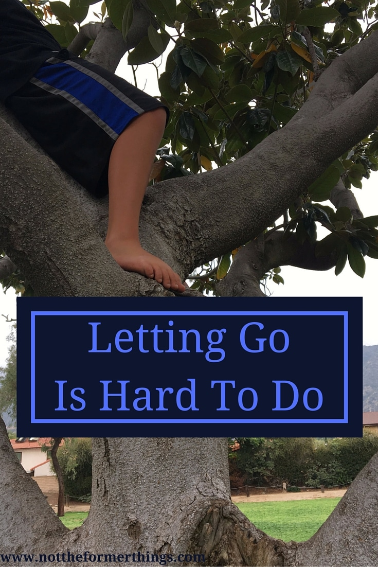 Letting Go Is Hard To Do