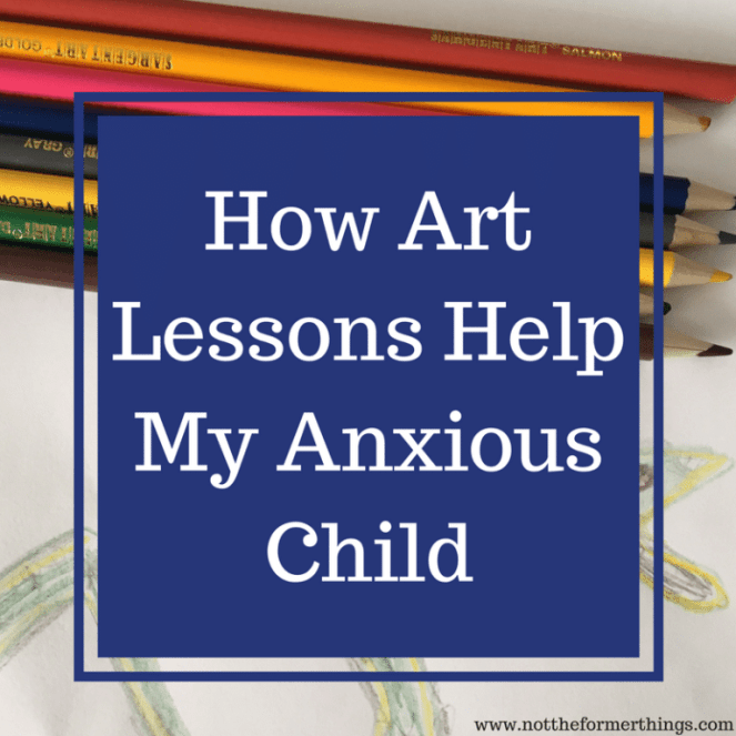 How Sparketh.com, online art lessons have helped my anxious child.