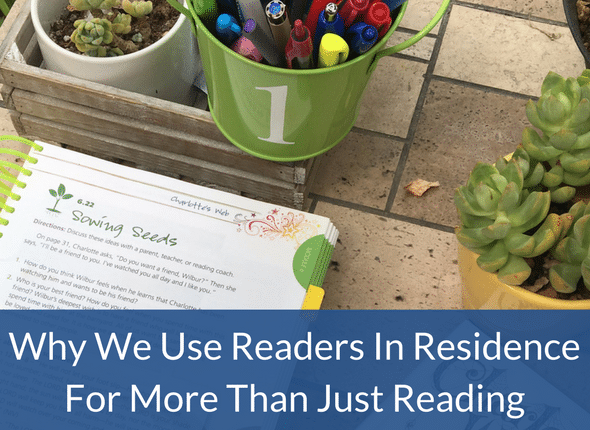 Why We Use Readers In Residence For More Than Just Reading - language arts, learning differences, dyslexia