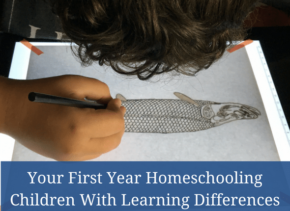 Your First Year Homeschooling Children With Learning Differences #homeschooling #learningdifferences #autism #adhd #anxiety #dyslexia
