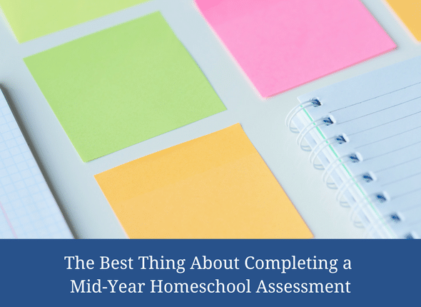 The Best Thing About Completing A Mid-Year Homeschool Assessment #homeschooling #homeschool #homeschoolmom