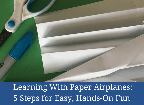 Learning with Paper Airplanes 5 Steps for Easy Hands-On Learning #kidsactivities #homeschool #homeschooling #homschoolmom