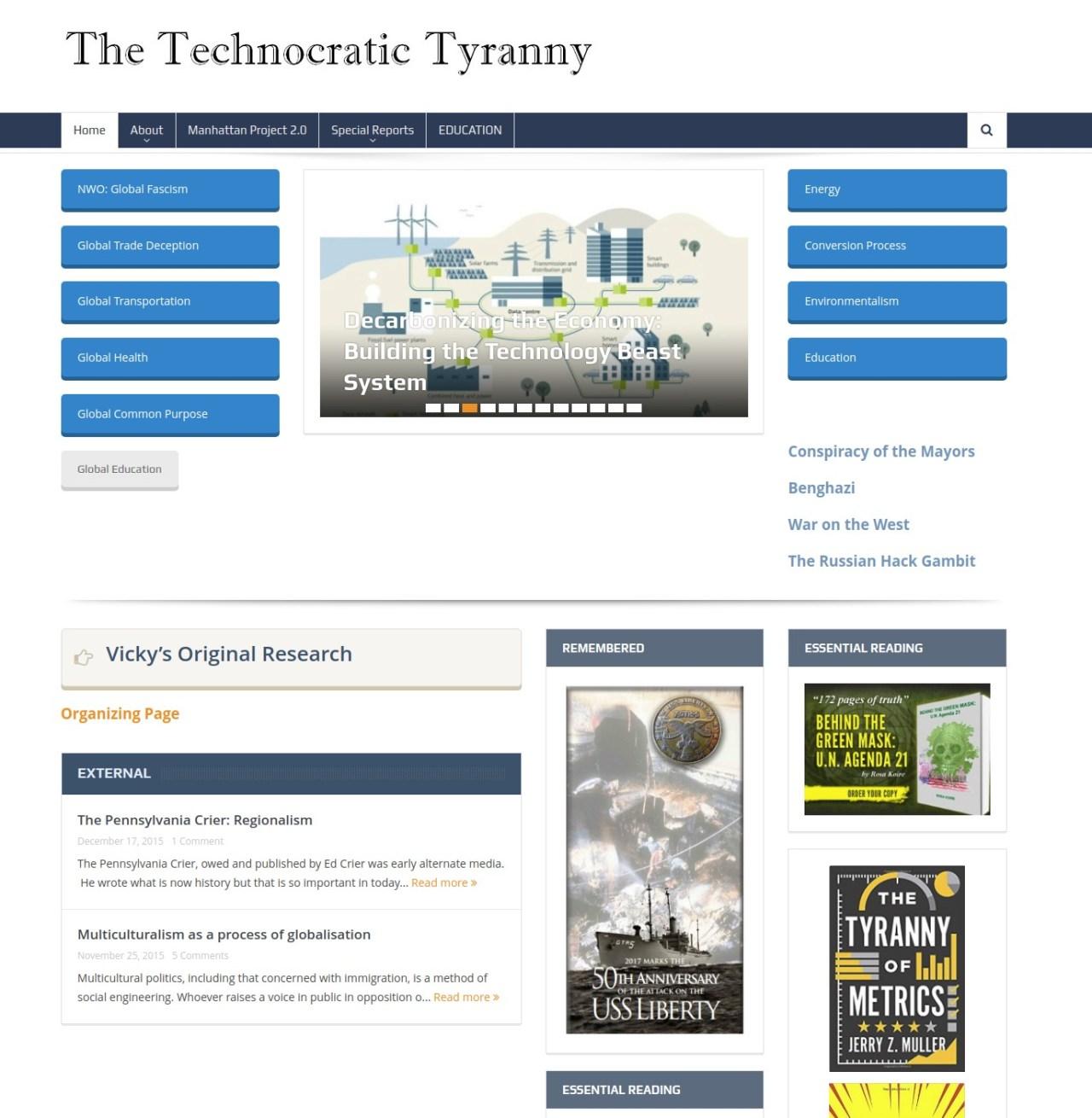 technocratic tyranny
