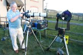 John and his Altair (Triplet Refractor, 102mm F7.5)