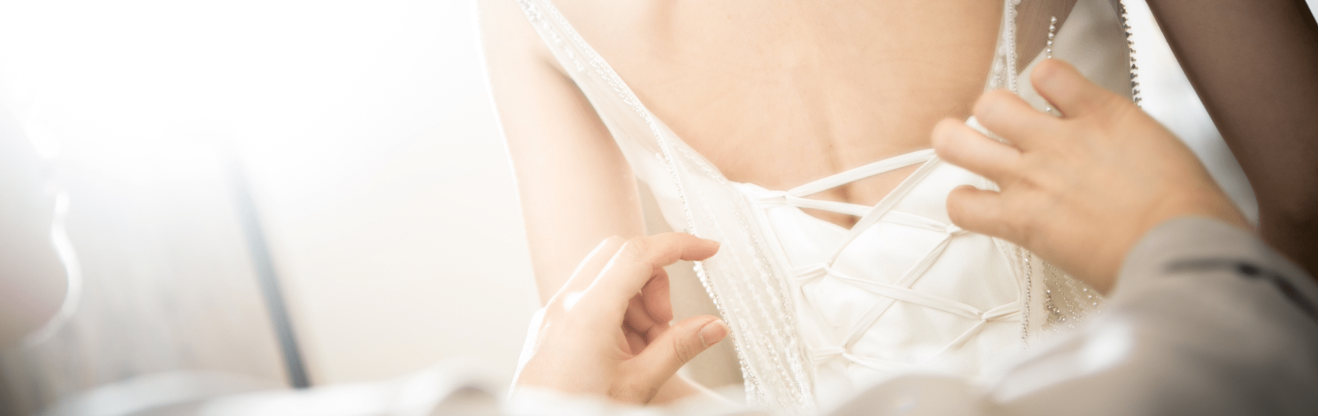 The safe way to clean & restore your wedding dress