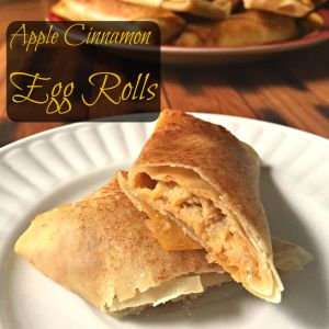 Apple Cinnamon Egg Rolls CV
