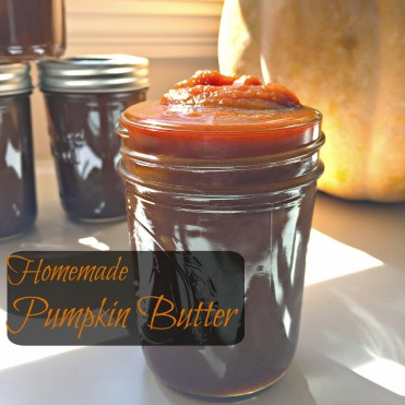 Homemade Pumpkin Butter CV1