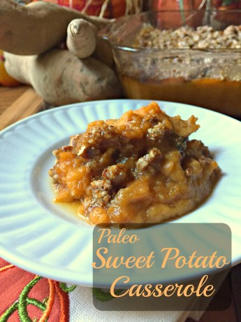 sweet potato casserole CV