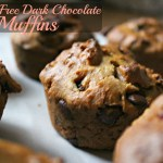 Dark Chocolate Cranberry Muffins