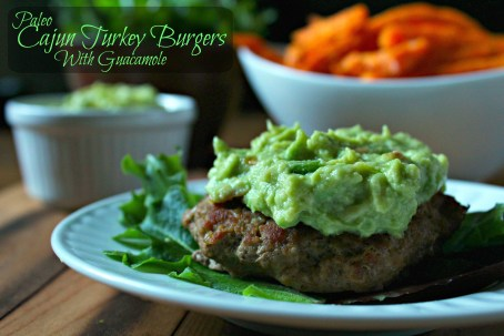 Cajun Turkey Burger CV2