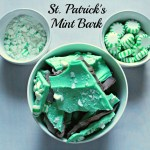 St. Patrick's Mint Bark