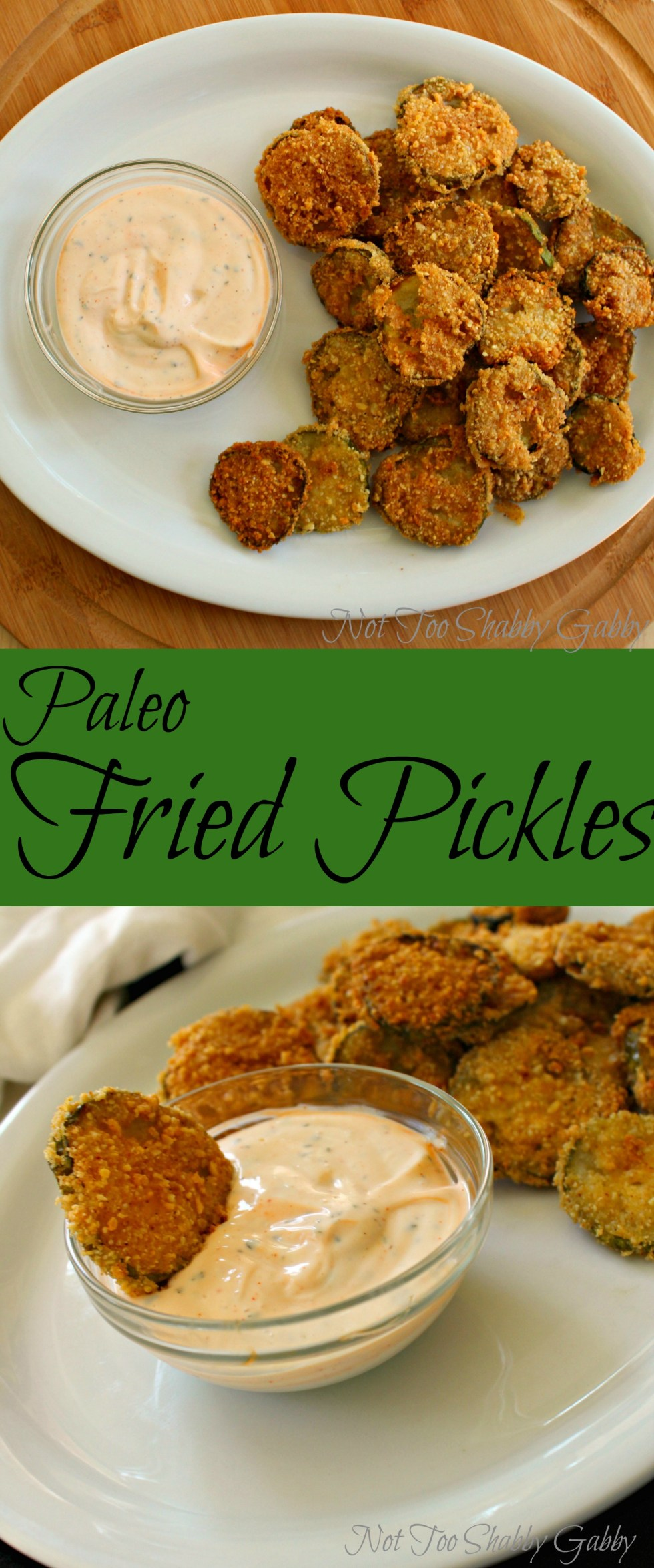 paleo fried pickles pin