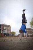 David - Handstand.