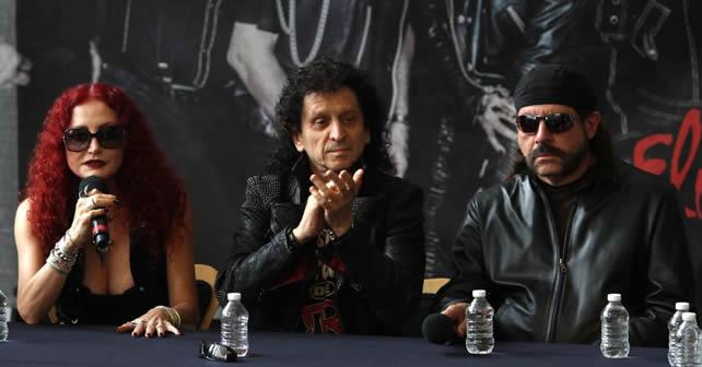 """Alex Lora y El Tri durante conferencia presentan su nuevo material discográfico titulado """"Ojo Por Ojo"""". Foto EL UNIVERSAL/Agustín Salinas"""
