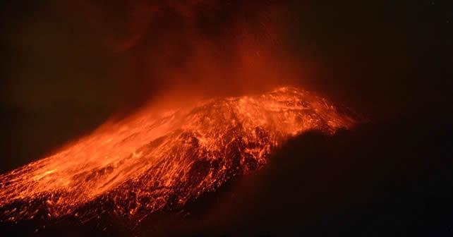 Volcán Popocatepetl registra más actividad sísmica