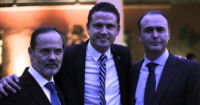 Gustavo Madero, Alejandro Badía, Alberto Villareal