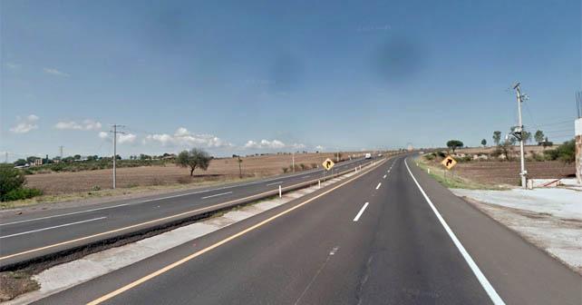 Carretera Federal 90, lugar aproximado en el que ocurrieron los hechos