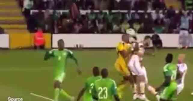 autogol nigeriano