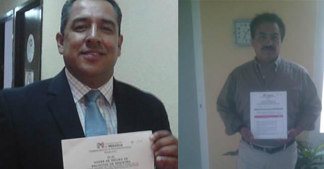 Juan José Cabrera (izquierda) y Eduardo Pérez Conde