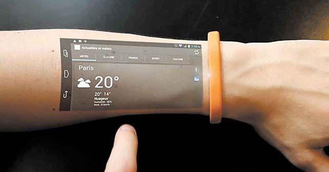 tableta brazo