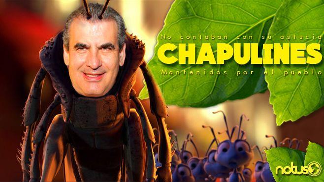 Chapulines Miguel Angel Chico Portada