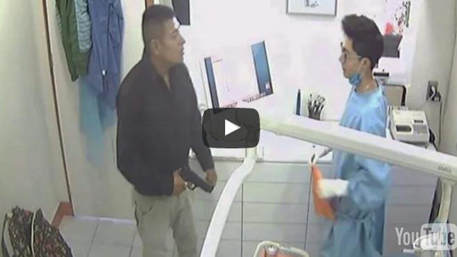 dentista asaltado