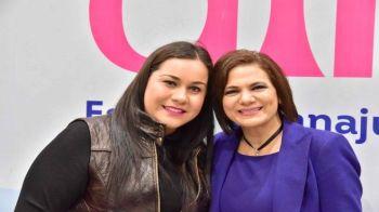 Maru Carreño y Blanca Preciado dif Manuel Doblado