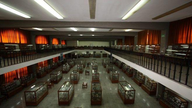 panorámica de museo