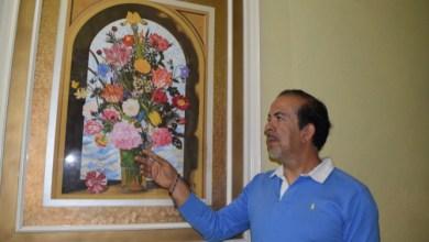 Photo of Rubén Trejo Conejo pintor salmantino ha logrado llevar su arte  al extranjero