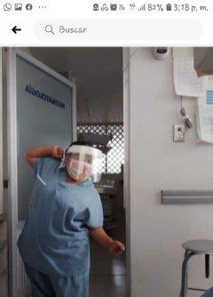 Nena Valadez enfermera (Personalizado)