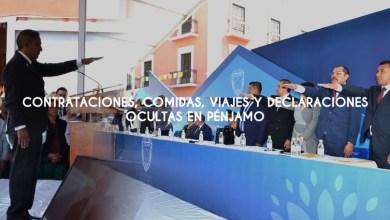 Photo of Contrataciones, comidas, viajes y declaraciones ocultas en Pénjamo